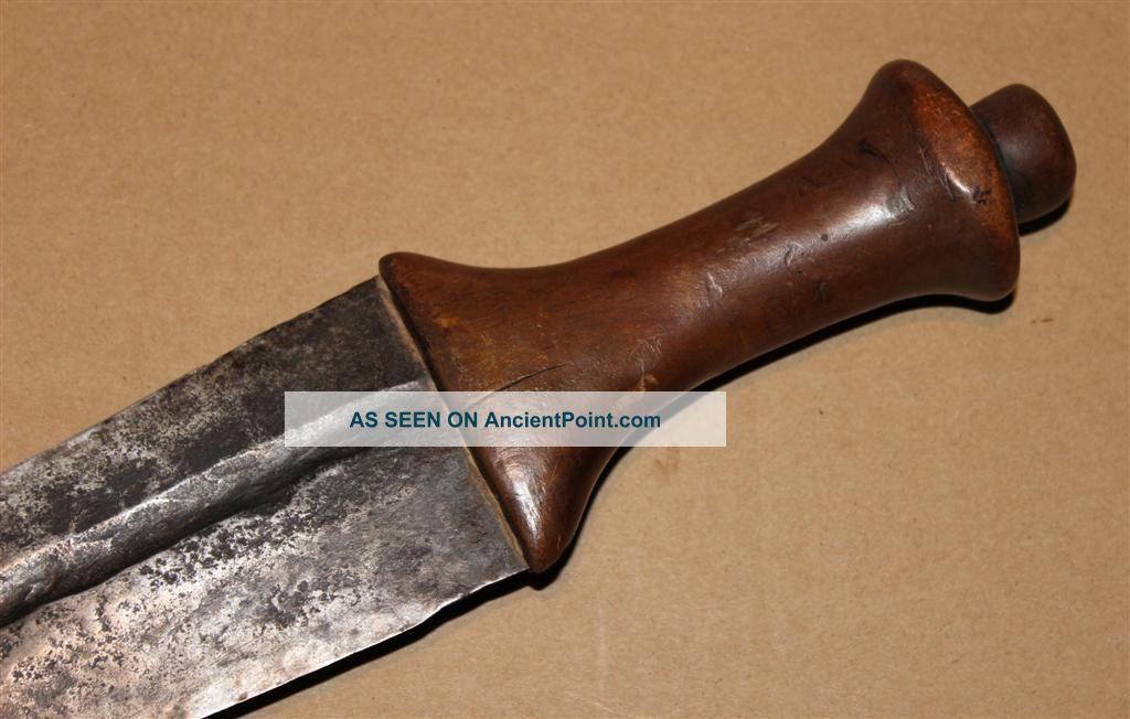 Congo Old African Knife Ancien Couteau Lunda Kongo Africa D ' Afrique Kongo Zwaard Other photo