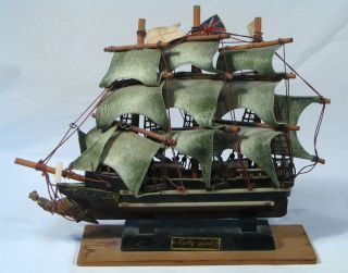 Built Cutty Sark Wooden Sailing Ship Model Detail Display 1869 photo