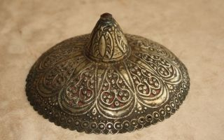 Ottoman Turkish Hand Made Authentic Women Maiden Headdress photo