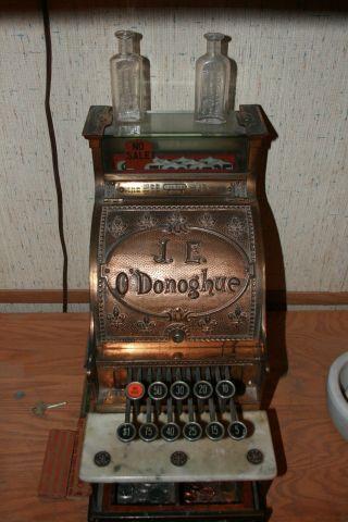 Antique National Cash Register 'model 5' photo