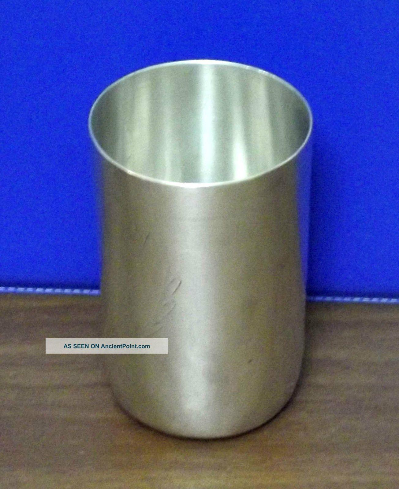 Vintage Silver 800 Wine Vodka Polish Engraved Cup Goblet Not Reserved Other photo