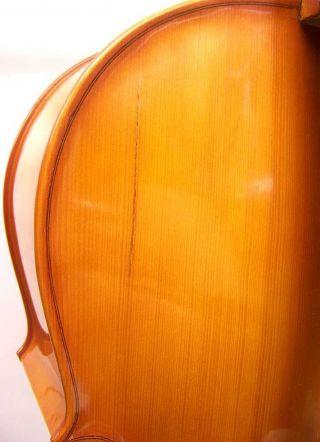 Tom - Klar Cervetto William Lewis & Son Model 1800 4/4 Full Size Cello Romania photo