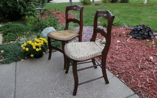Antique Side Chairs photo
