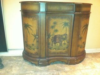 1940 ' S Tropical Bar Credenza photo