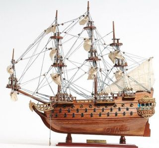 Spanish San Felipe Wooden Model Ship 19