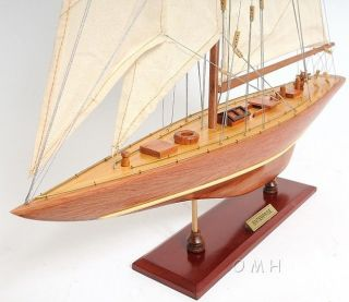 1930 Enterprise Yacht Wooden Model 25