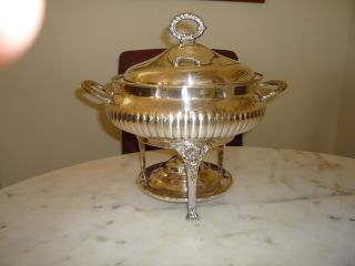 Silver Plate Chafing Bowl photo