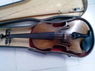 Old Fine German Janurius Gaglianus Antique Violin (1880 - 1890) photo