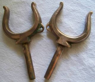 Brass Bronze Oar Locks 2 5/16