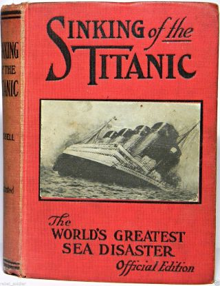 1912 Titanic Ship Wreck Maritime Antique Rms Carpathia Steamer White Star Line photo