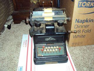 Dalton Machine Company Adding,  Listing,  And Calculating Machine (1912 - 1915) photo