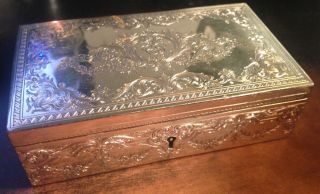 Howard & Co Sterling Silver Box photo