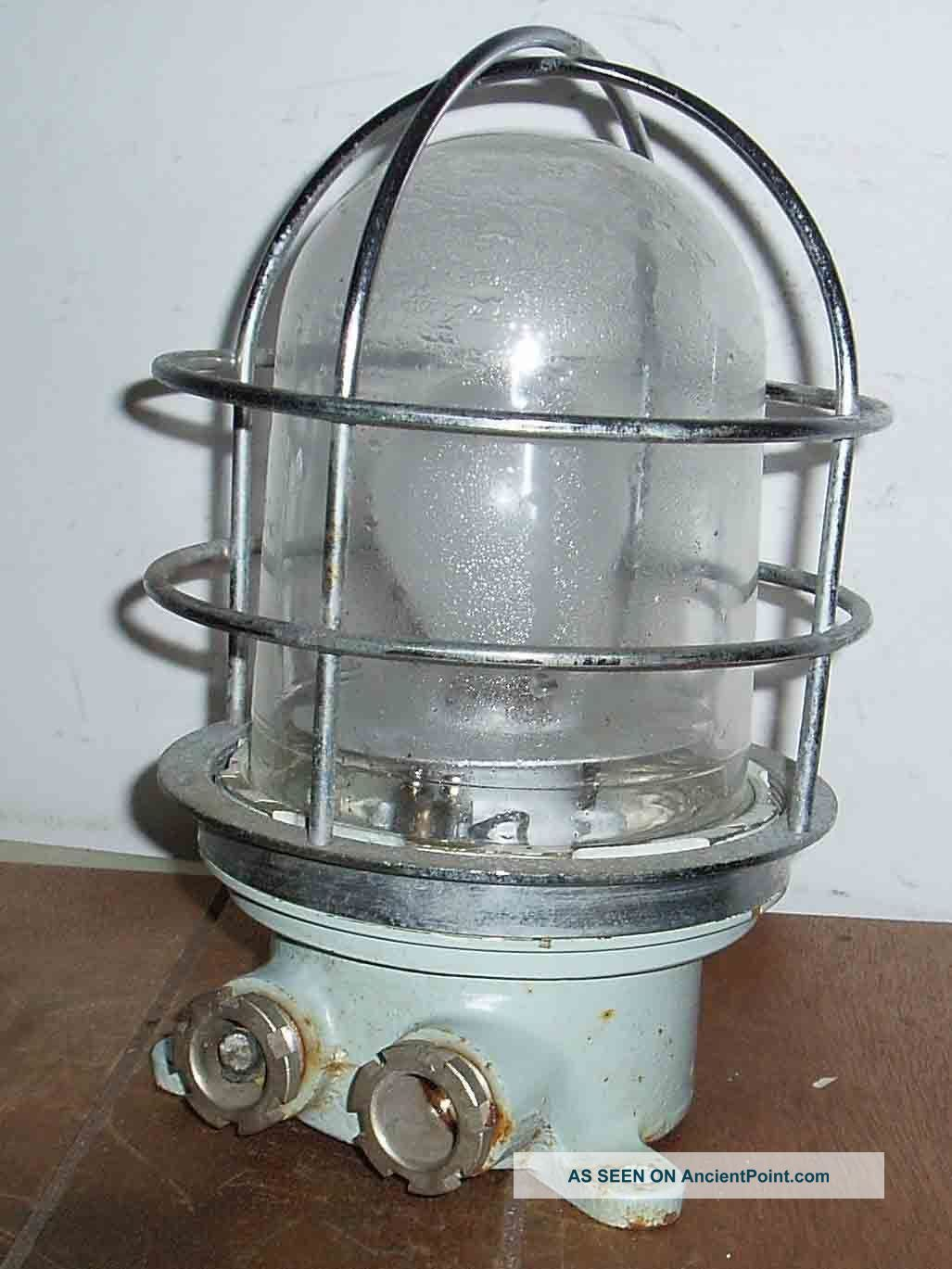 Vintage Maritime Ships Caged Wall Or Ceiling Lamp Water Proof Outdoor Or Indoor Uncategorized photo