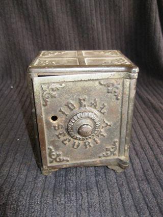 Antique 1903 Ideal Security Bank,  Rare photo