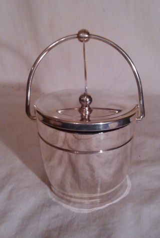 Wallace Silver (sp) Sugar Bowl W/mechanical Lid. photo