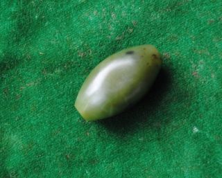 Antique Ottoman Isalmic Mughal Jade Nephrite Bead No Qing Dynasty photo