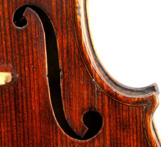 Antique Violin,  C.  1880,  Luthier Checked And Ready - To - Play, photo