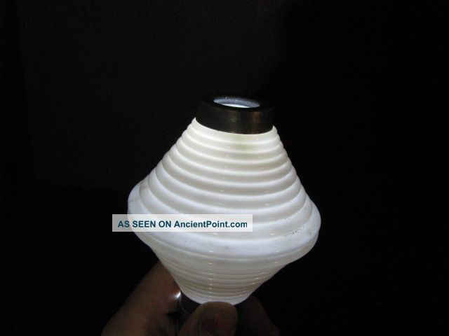 Antique @white Milk Glass Pattern Rare Ribbed Pee Wee Glass