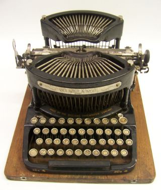 Antique Williams 4 Typewriter 1899 photo