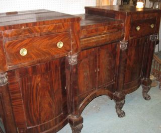 Anthony Quervelle Attributed Sideboard,  C.  1830s photo