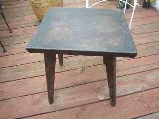Rare Antique,  Wooden Accent Table 19