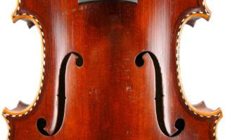 Gorgeous Antique French Violin C.  1900 - For Restoration And Repair - photo