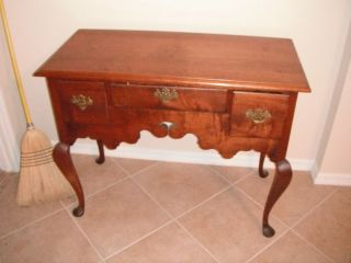 Circa 1810 Conneticut Lowboy photo