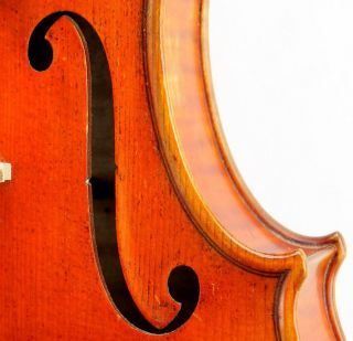 Exceptional Antique Czech Violin - Mathias Heinicke Geigenbaur Bohemia C.  S.  R.  1935 photo