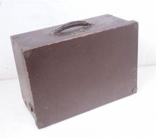 Portable Suitcase Case For Singer 99 Vintage / Antique photo