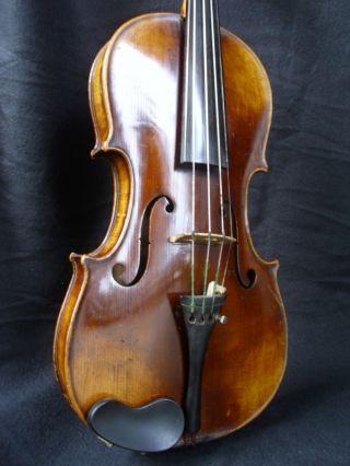 Very Rare Antique Hungarian Violin By J.  Stowasser,  Budapest - Case photo