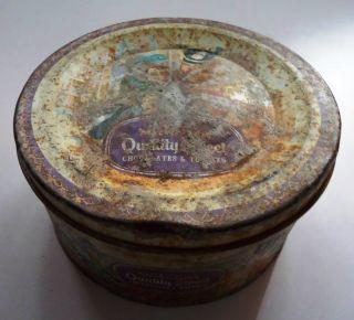 Old Vintage Mackintosn ' S Quality Street Ad Litho Tin Box photo