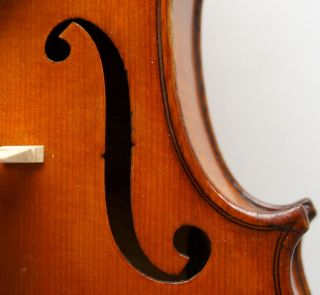 Antique French Violin - C.  1920 Mirecourt,  France,  Ready - To - Play, photo