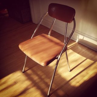 Mid Century Folding Chair By Costco From The 1960s photo