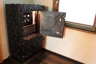 Xviii Century Italian Safe Customized As Watch Winder Jewellery Box photo