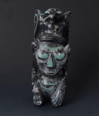 Chinese Hongshan Style Big Jade Handwork Carved Monster Totemism Statue - Jr10790 photo