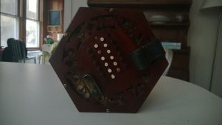48 Note English Concertina For Restoration (george Case) photo