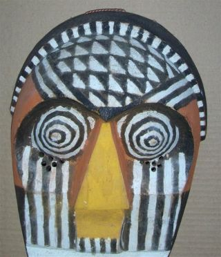 Congo Old African Mask Ancien Masque Africa Kete Kongo Masker Afrika D ' Afrique photo