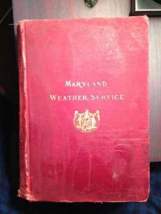 The Maryland Weather Service Volume Iii - 1910 photo