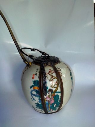 Antique Ceramic Chinese Is From China There Old 80 Year Ago 4 photo
