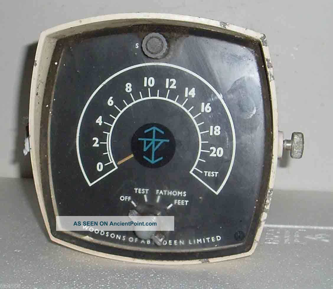 C1970 Small Ships Depth Tester In Feet Or Fathoms Woodsons Of Aberdeen Uk Uncategorized photo