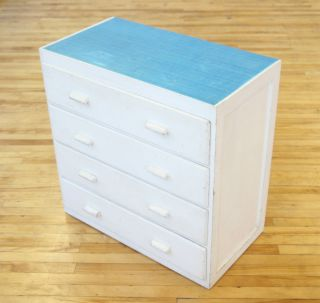 Retro Chest Of Drawers Mid Century 1950s 60s Vintage photo