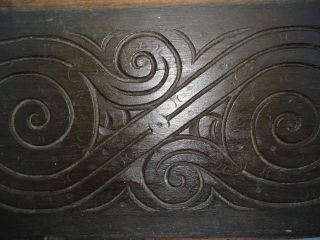 17th Century Oak,  Large S - Scroll Panel photo
