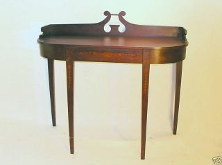 Rare Antique Period American Mahogany Server 1780 - 1820 photo