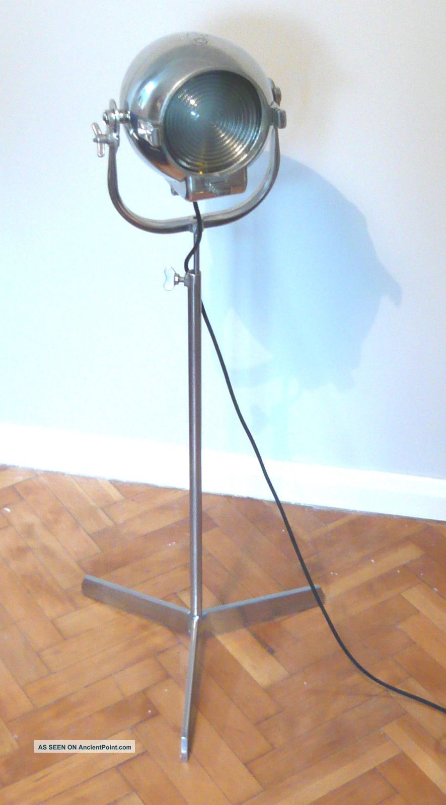 Vintage Theatre Light Studio Floor Industrial Antique Lamp Alessi Eames Starck Uncategorized photo