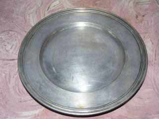 R.  Wallace Nickel Silver Peerless Grill Plate 0500 photo