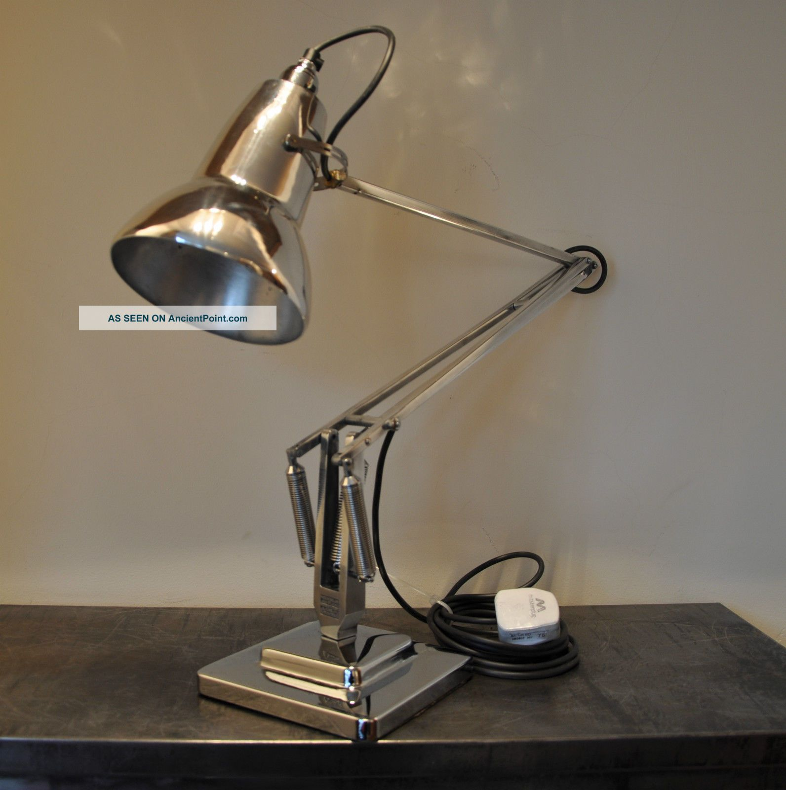 Anglepoise Lamp 1950 ' S Deco Retro English Design Classic 20th Century photo