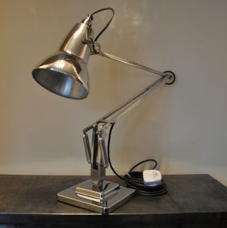 Anglepoise Lamp 1950 ' S Deco Retro English Design Classic photo