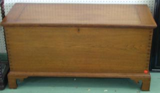 Fantastic Very Old Dovetail Joint Chest Pennsylvania? photo