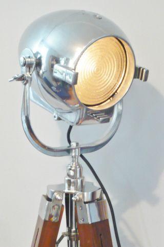 50s Vintage Theatre Film Lamp Industrial Iconic Design Floor Light Alessi Vitra photo