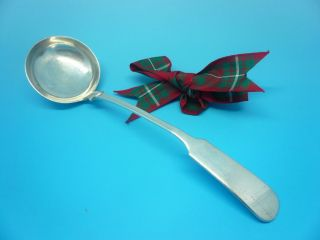 Scottish Provincial Silver Toddy Ladle Alex Cameron Dundee C.  1820 photo